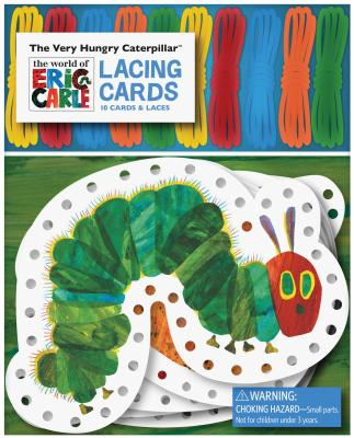 The Very Hungry Caterpillar Lacing Cards By Carle, Eric